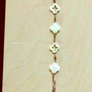 Brighton clover bracelet